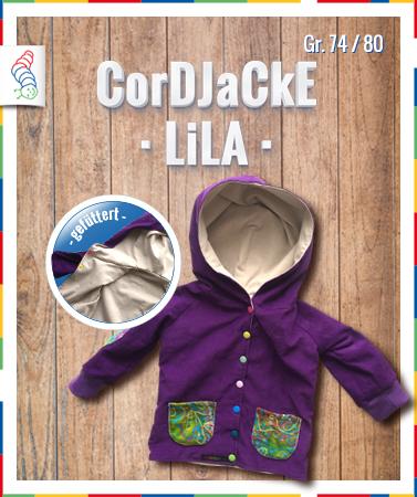 Cordjacke Gr. 74/80