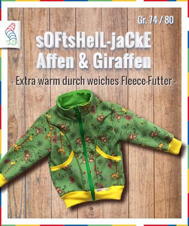 Softshell-Jacke Gr. 74
