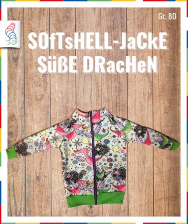 Softshell-Jacke Gr. 80