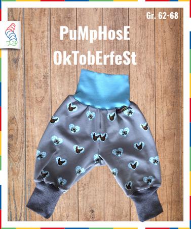 Pumphose Gr. 62/68 Oktoberfest